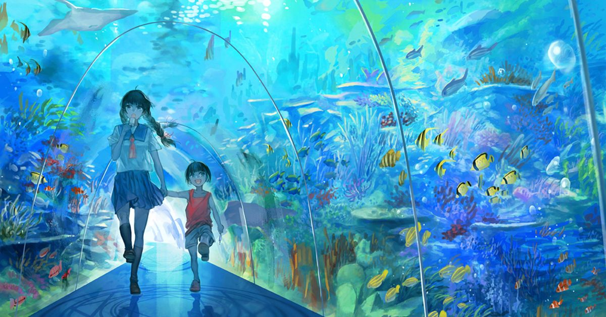 Drawings of Aquariums - Come with Me to a World of Water!