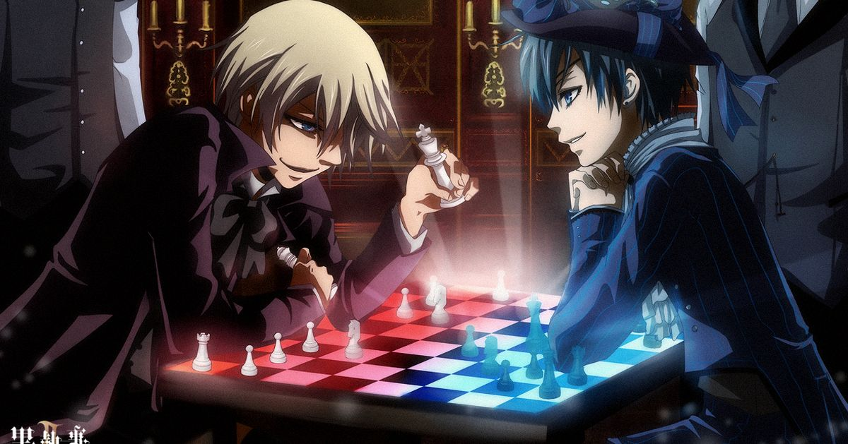 Drawings of Chess - An intelligent game ensues on the board.