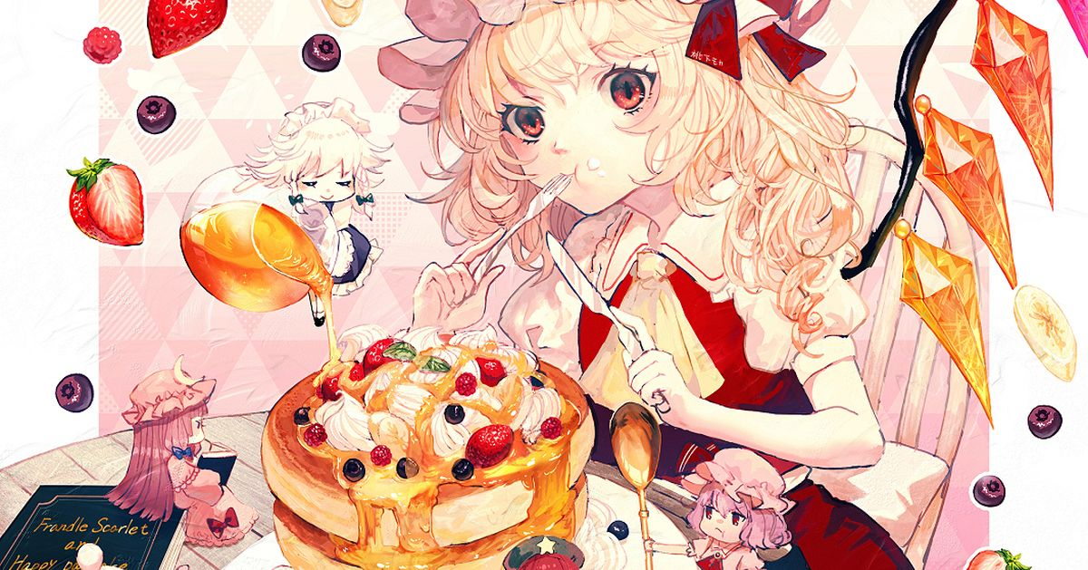 Drawings of Pancakes - Obsessed with Sweet and Fluffy Dishes♡