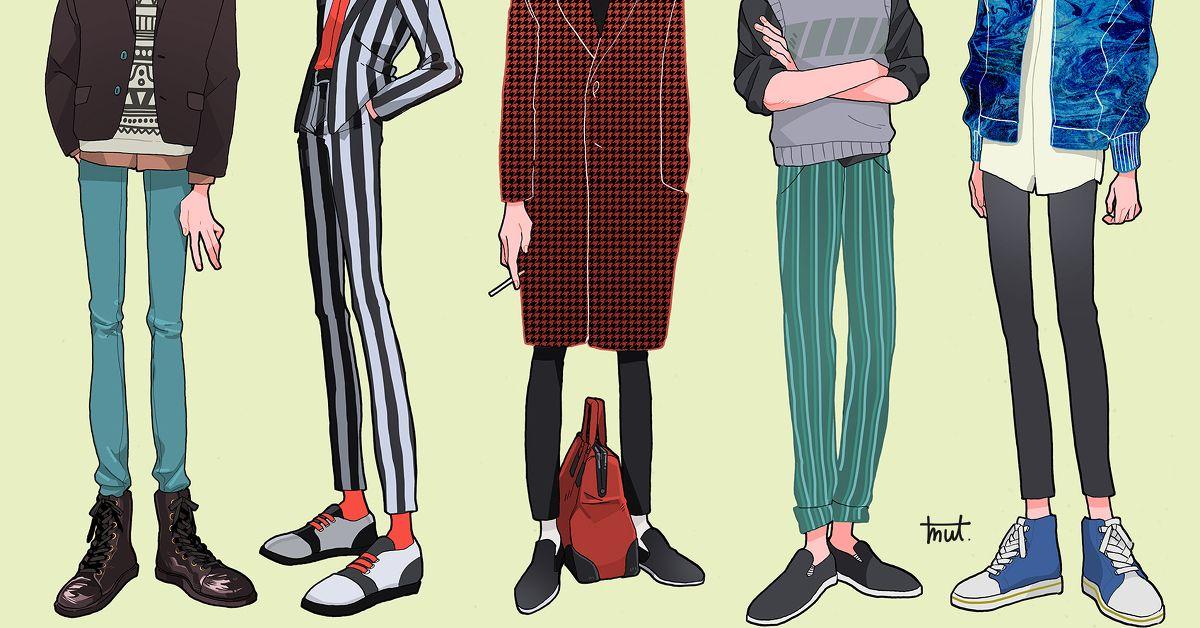 Drawings of Skinny Jeans - Like an Instagrammer!