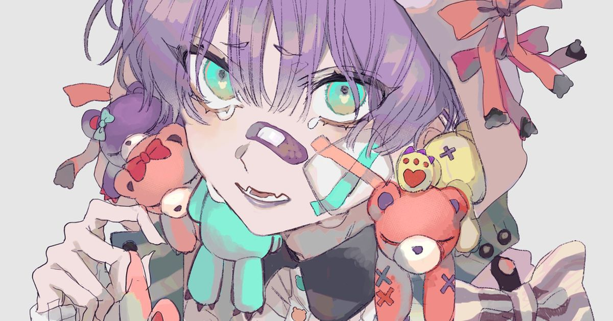 "YamiKawaii (""Adorable Sickness"") Drawings - Addicted to your poisonous cuteness ♡"