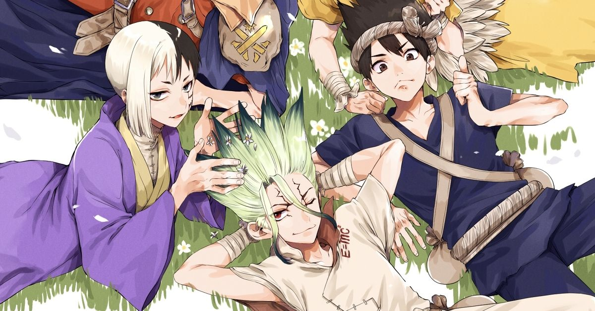 "Fan Art from ""Dr. Stone"" - The Second Season of the Anime is Going Well!"