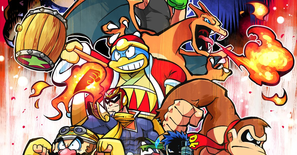 Fan-art of Super Smash Bros. Ultimate - The biggest series yet!