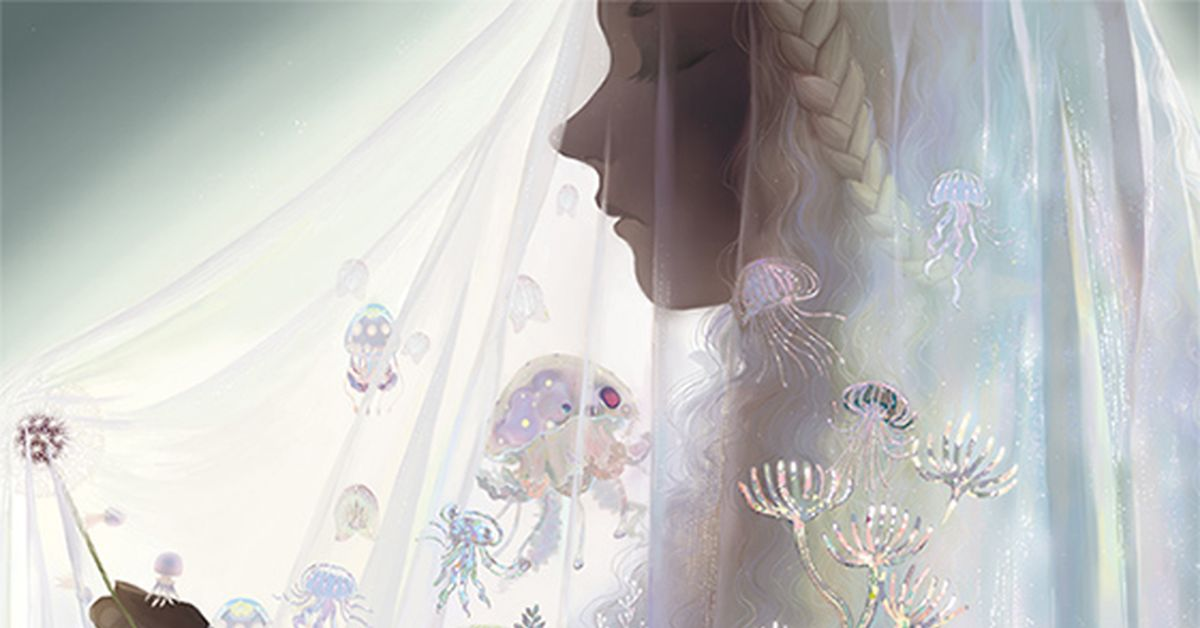 Drawings of Veils - A beautiful decoration for you.