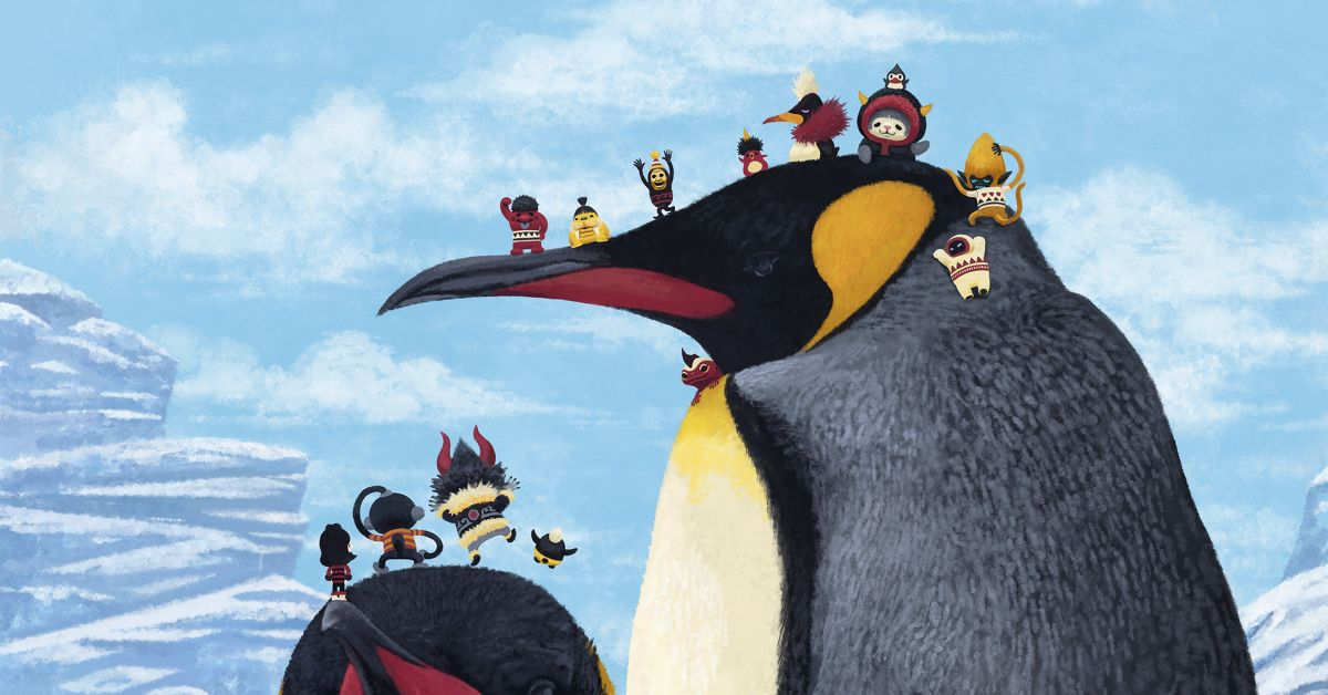 A Feature on Drawings of Penguins