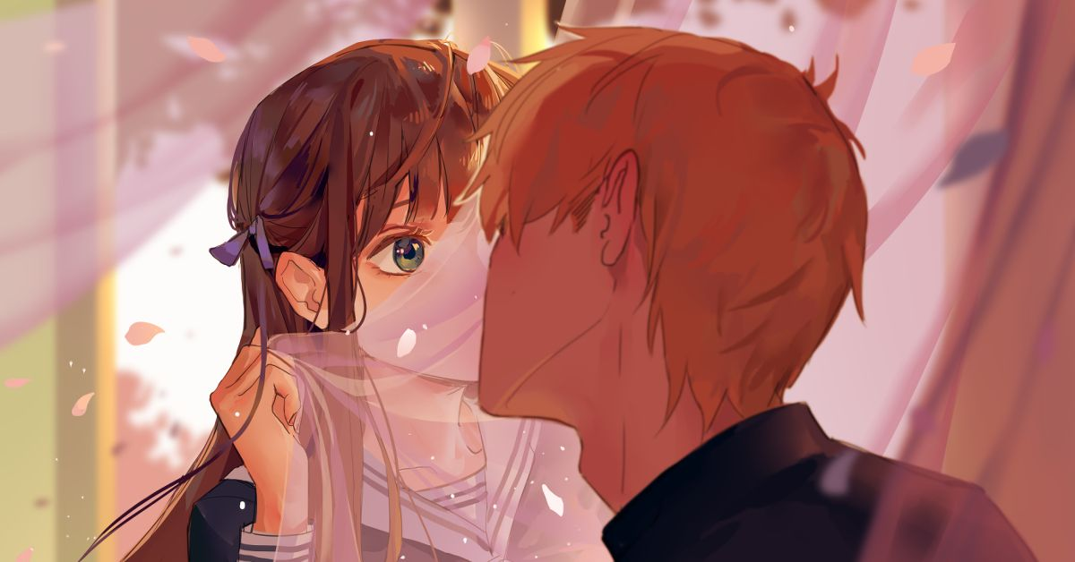 Drawings of Kiss Scenes  - Share the Love♡