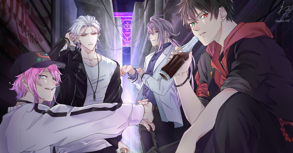 """""""Hypnosis Mic"""", Featured Fan Art of All MC. - Leaders are Aligned."""