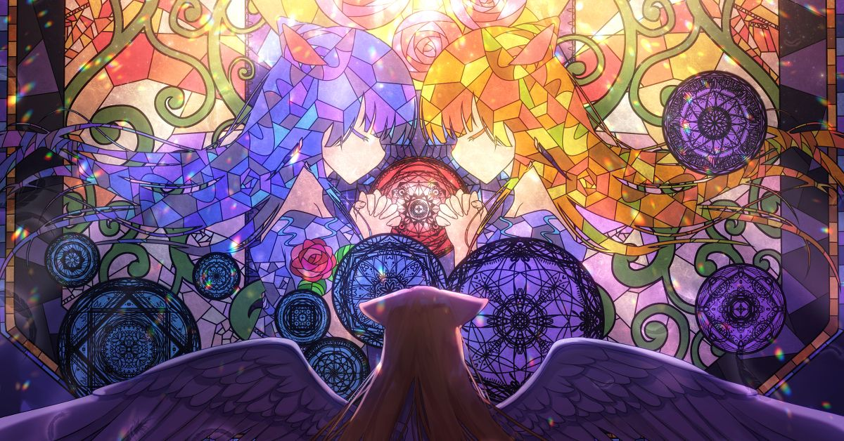 Drawings of Stained Glass - Richly Colored Illumination