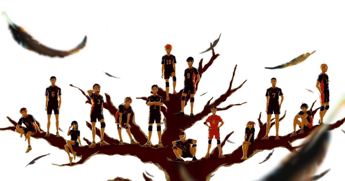 Haikyu!! Final Episode Fan Art Special - Karasuno High Edition - Fly high!