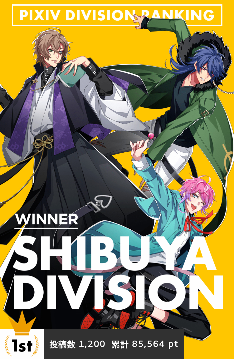 Hypnosis Mic pixiv DIVISION BATTLE: Announcing the Winner
